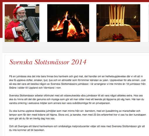 Svenska Slottsmässor