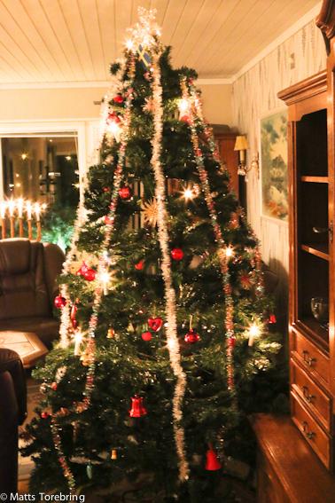 Årets julgranar är klädda