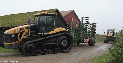 En av de största traktorer jag sett