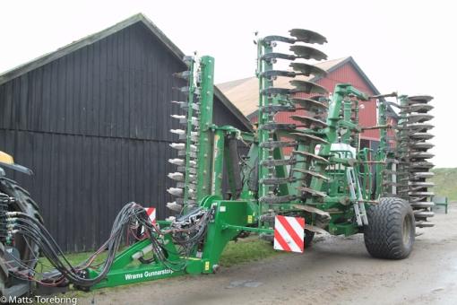 Vilka maskiner de har de stora bönderna