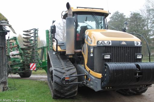 En traktor med gummiband har jag aldrig sett förr
