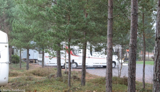 På ställplats Habo Camping