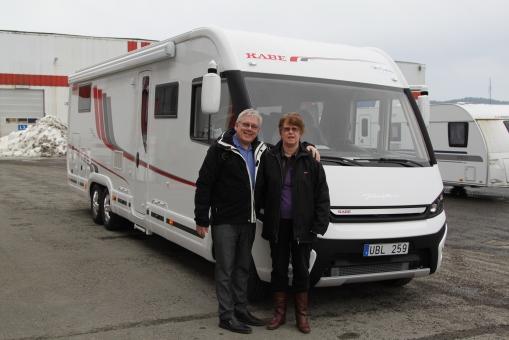 Vi hämtar vår nya husbil 1 mars 2013