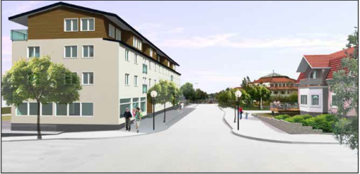 Nya Centrumhuset i Aneby