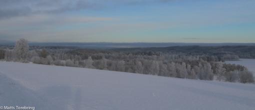 Utsikt vid Stjärneborg vid norra delen av Ralången