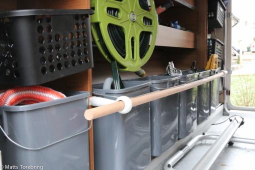 En ny idé till garaget i husbilen