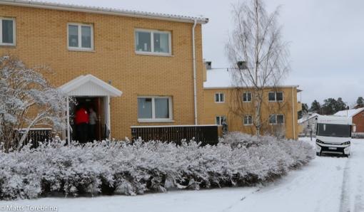 Hagadalsgatan i Tranås, två minuter från stora vägen.