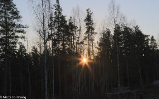 En stund senare kom solen upp