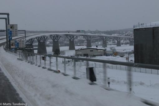 Nya bron i Sundsvall