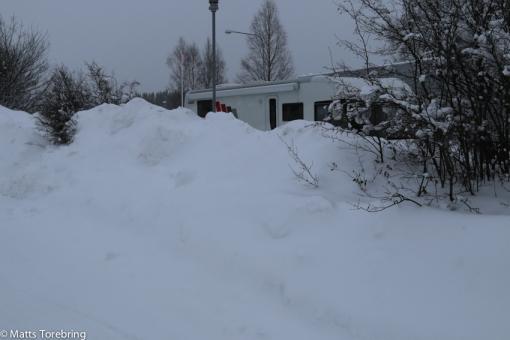 Frukostdags utanför Skellefteå