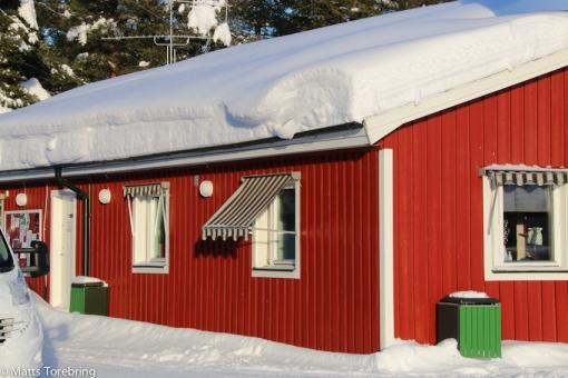 Vinterdag i Jokkmokk
