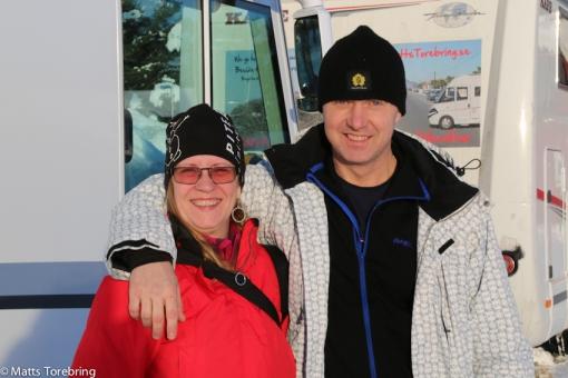 Våra bloggvänner Desirée & Kjell från Piteå kom idag
