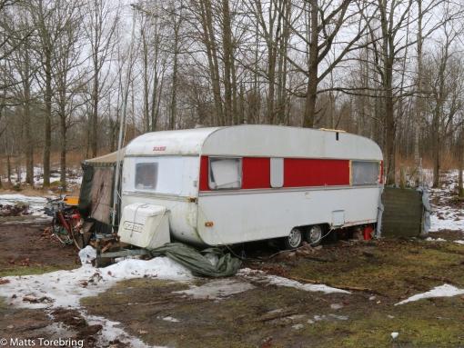 En tråkig syn på många campingar