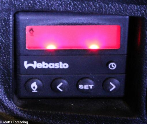 Vår Webasto i husbilen