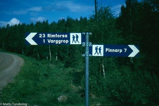 Vandring 35 km i skog & kärrmarker