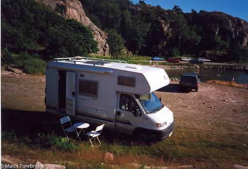 Vår första husbil Bürstner 532-2 1999