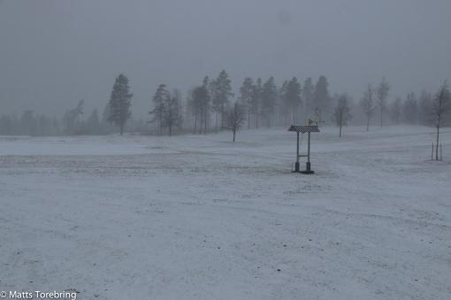 Lördag morgon Södra Sveriges högst belägna Golfklubb