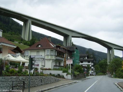 Brennerpasset mellan Österrike och Italien