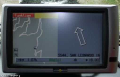 En dålig GPS bild