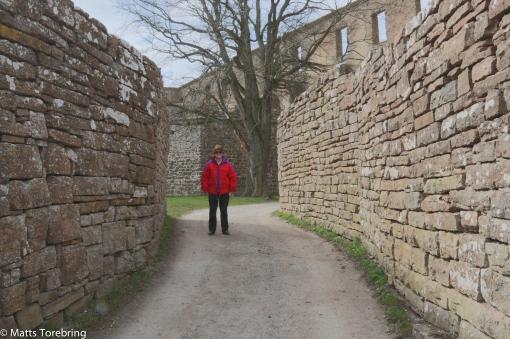 Vi besöker Borgholms Slottsruin