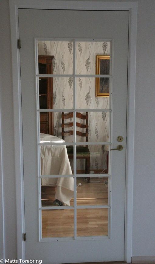 Här åker både dörr och vägg bort på onsdag