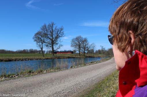 Kanalvägen på väg till Vandrarhemmet Glasbruket