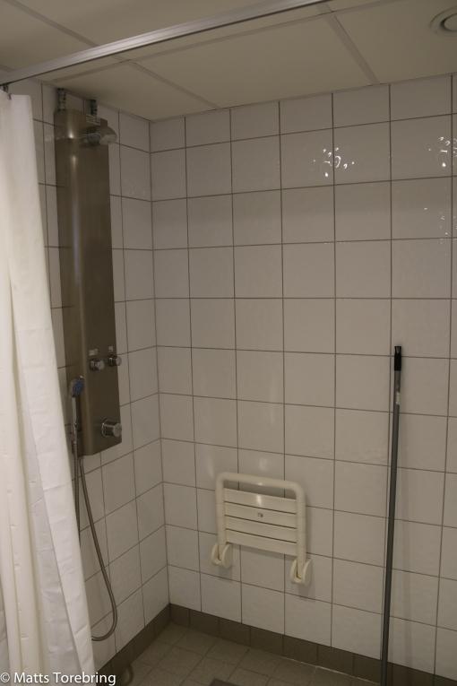 Hur många campingar har en dusch som denna?