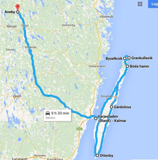 Jag längtar till Öland
