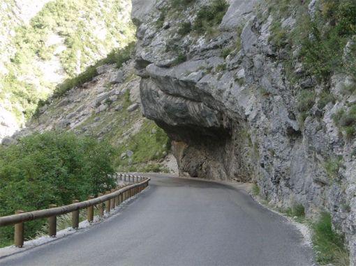 Napoleon Route har jag läst skall vara en av världen vackraste vägar