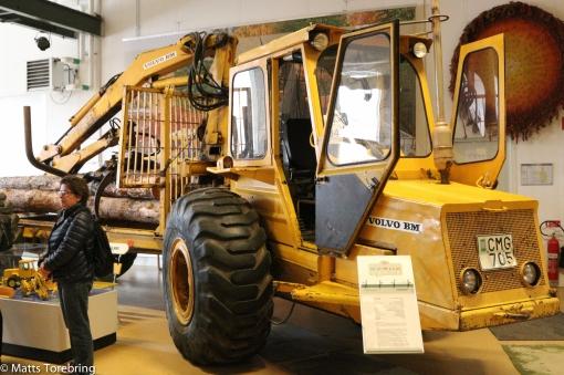Vi var 5- 6 skogshuggare för att hålla denna med jobb slutet 60- tal