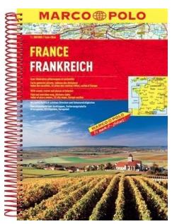 Ny kartbok Frankrike