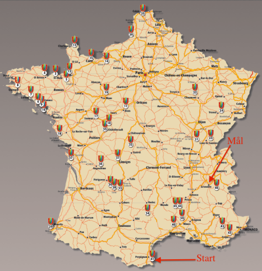 Start & Mål Frankrike