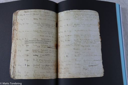 33 år gamla anteckningar bevarade i is