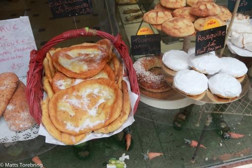Gott om bagerier & caféer