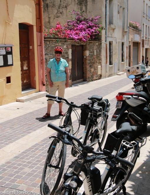 Cykeltur in till Collioure