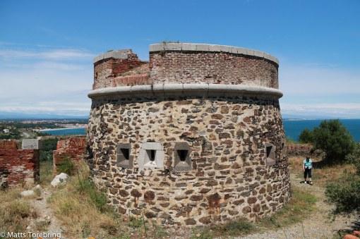 Mycket gamla försvarsanläggningar