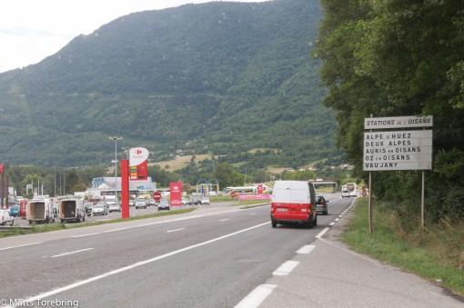 Vi har lämnat Grenoble