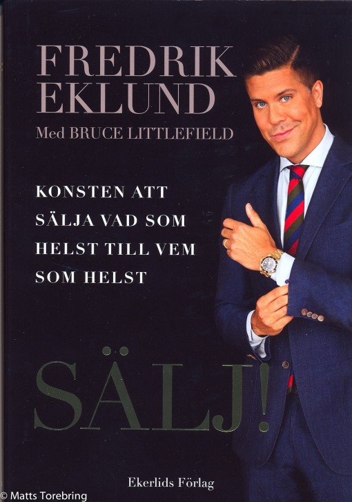 Fredrik Eklund författare till boken SÄLJ!