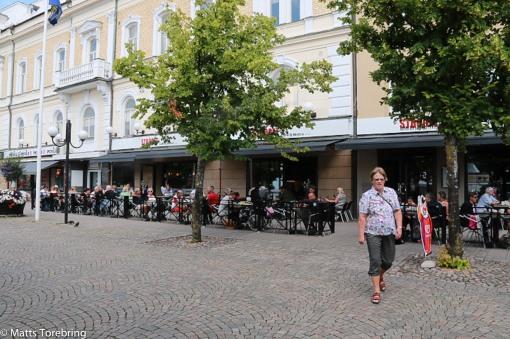 Fika på Café Ströget