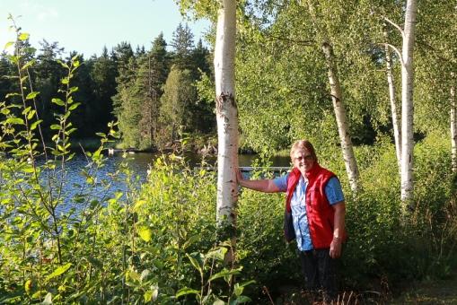 100 meter från Ställplats Storken Kvillsfors
