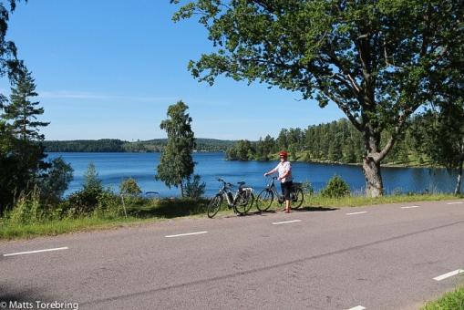 På cykel runt på Torpön