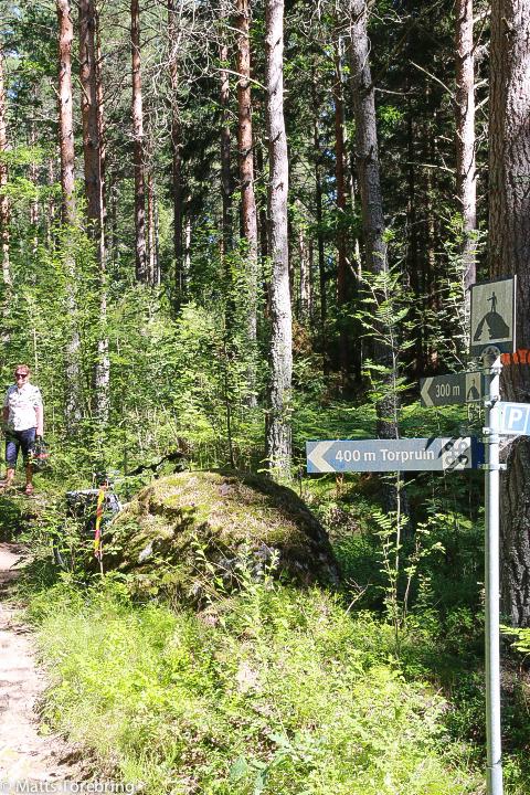 På till fots på Torpön