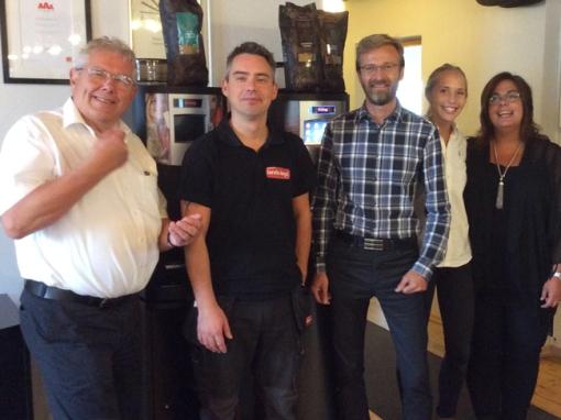 Produktutbildning Arvid Nordquist Coffee Lounge idag