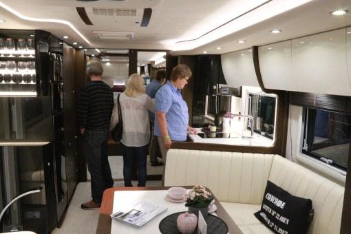 Köket i Concorde Liner var minst sagt imponerande