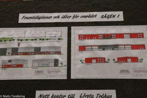 Nytt kontor för Lövstad Trähus är redan planerat.