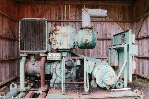 En gammal kompressor