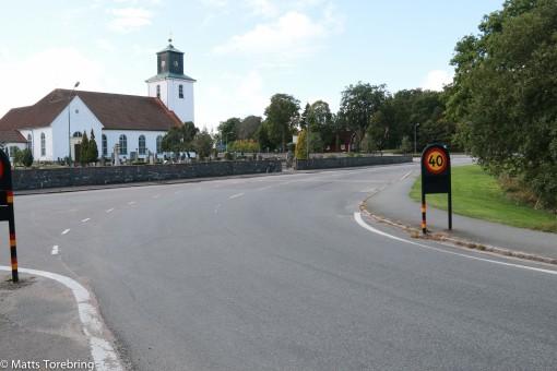 Tidigare genomfart Osby riksväg 23
