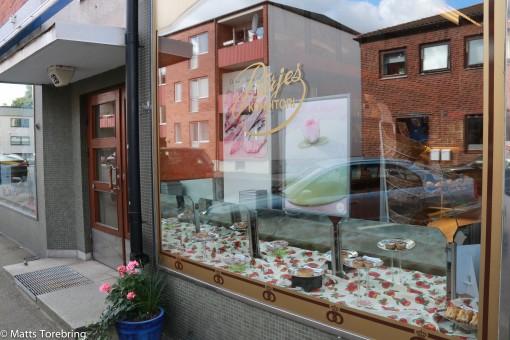 Vi hittade snabbt Börjes Café