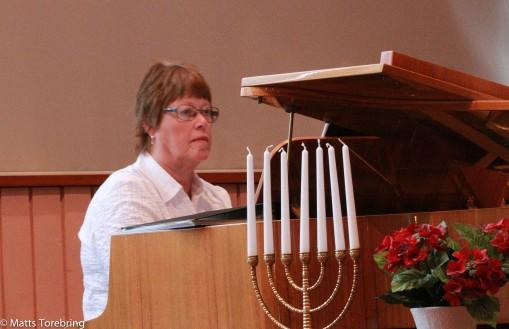 Birgitta har under 50 år spelat varenda söndag i kyrkan