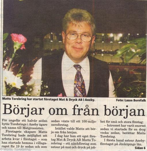 Smålandstidningen 1995